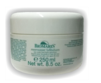 Sea water foot balm